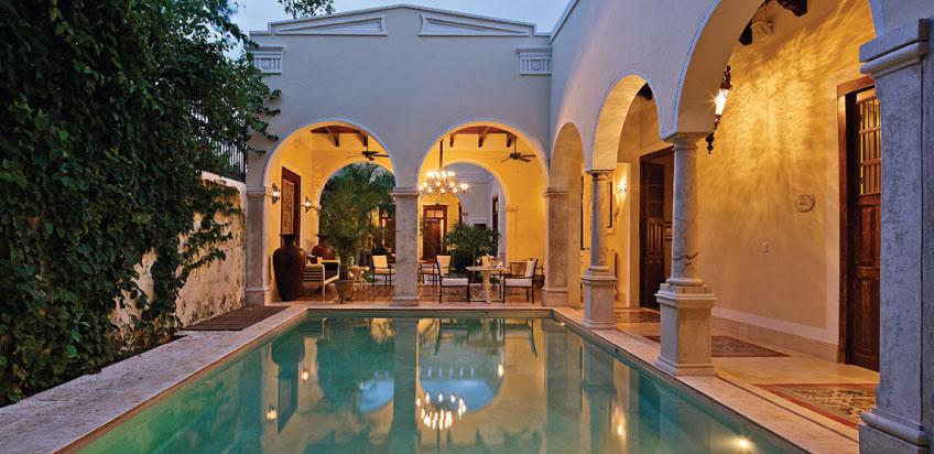 Una joya en m rida hotel boutique casa lecanda comalca for Boutique hotel yucatan