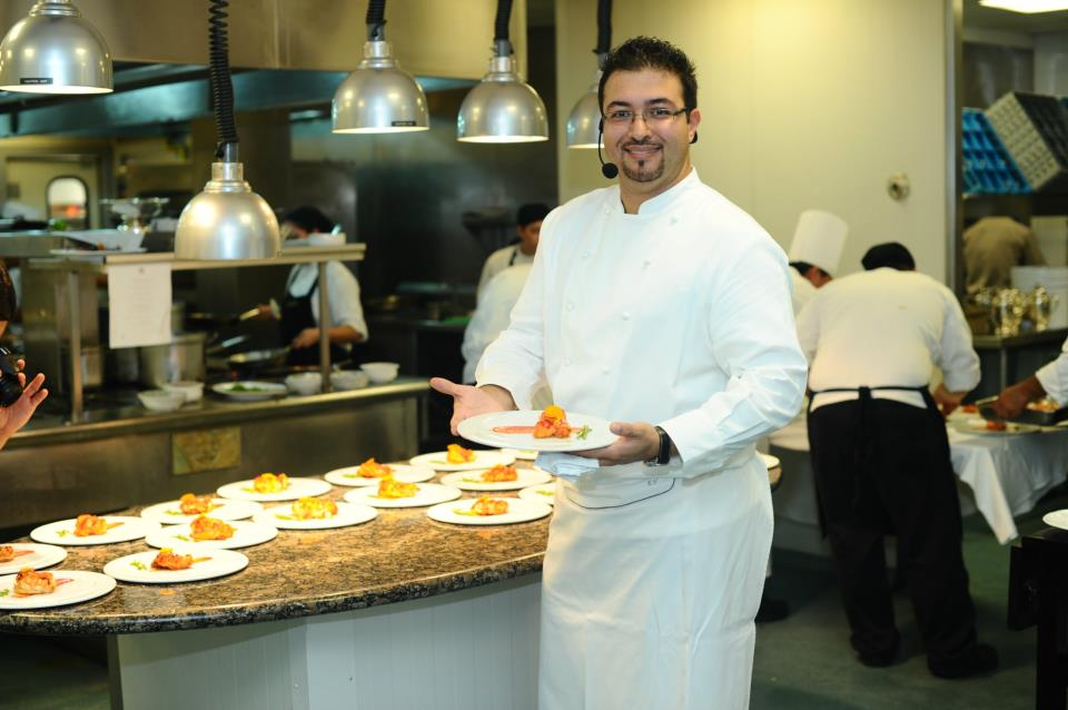 Chef eugenio villafa a comalca gourmet for Equipo para chef