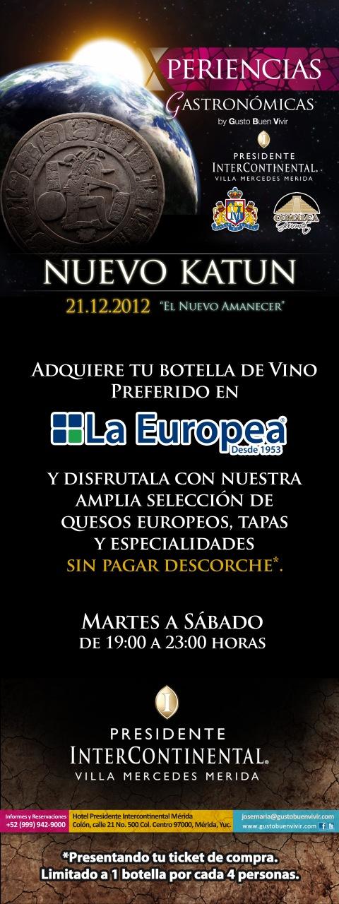 Banner Cena Nuevo Katun La Europea