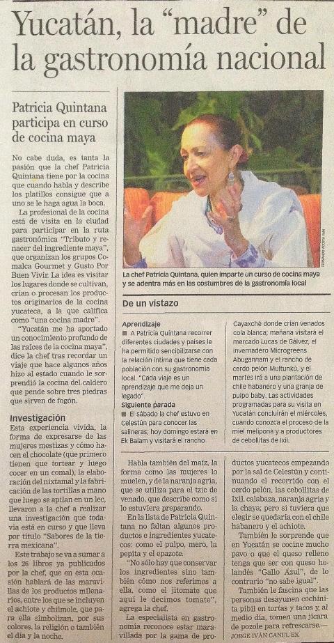 Periódico conferencia prensa Patricia