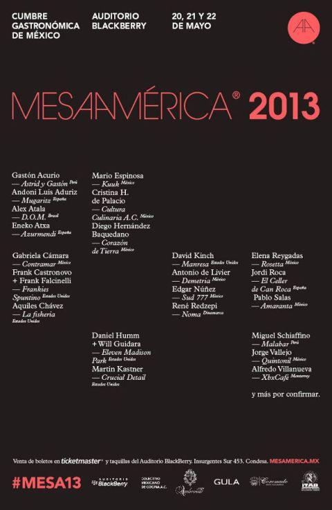 mesamerica 2013