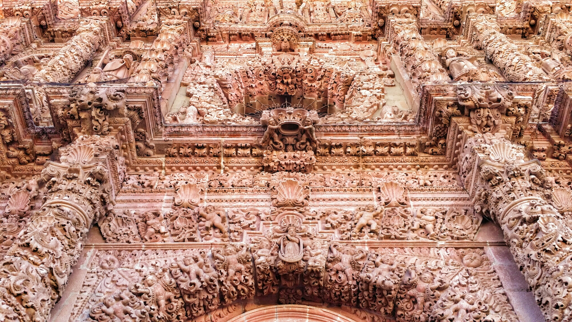Catedral de Zacatecas, una de las iglesias insólitas de México.