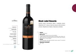 BLACK LABEL BONARDA